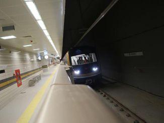 mecidiyekoy mahmutbey metro guzergahi ve sureleri