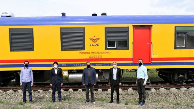tcdd personnel accommodation wagons were received