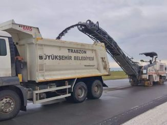Trabzon airport is closed to the flights due to runway maintenance