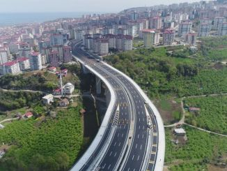 The most important part of the legal boulevard in Trabzon was opened to traffic