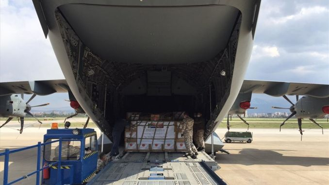 medical assistance to health care supplies in South Africa from Turkey