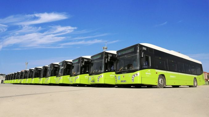 ulasimpark buses will provide free flights for weekend employees