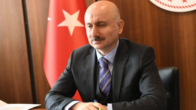 the minister of transport met with the karaismailoglu sweatshirt