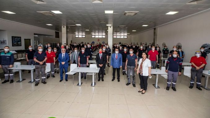Feast Visit to ESHOT by President Tunç Soyer
