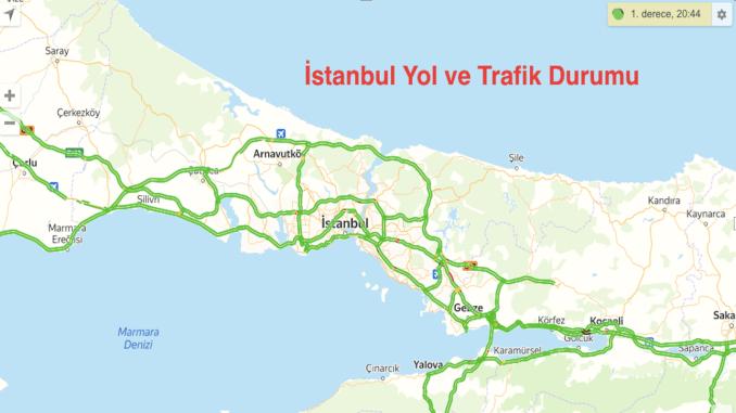 Istanbul Straßen- und Verkehrsbedingungen