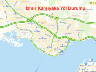 Izmir Karsiyaka Yol Durumu