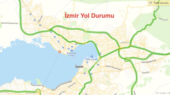 Tình trạng đường Izmir