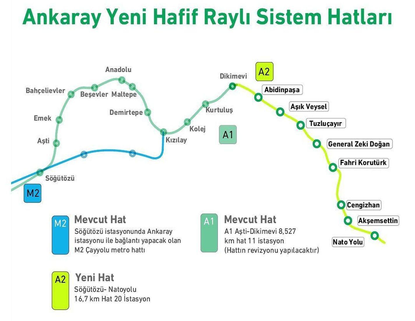 Mamak metro haritasi