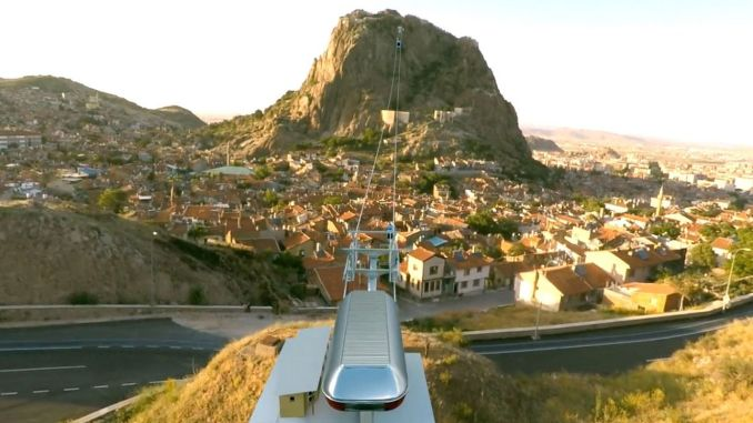 Afyonkarahisar castle cable car system will be tendered with passenger guarantee