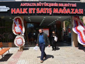 magasin de viande folklorique d'alanya mis en service