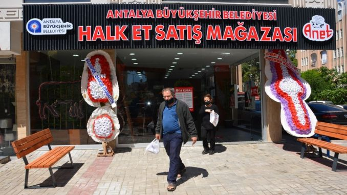 alanya folk meat store put into service
