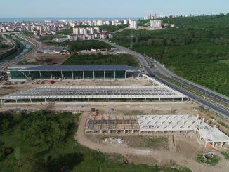 Фоизи терминали тиллоии автобусҳои байнишаҳрӣ ба анҷом расидааст