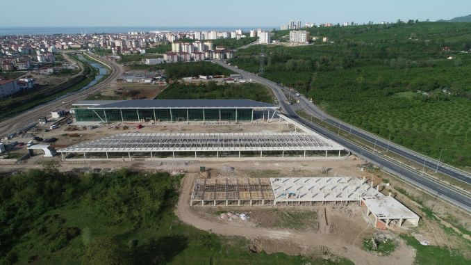 Percent of the gold intercity bus terminal is completed