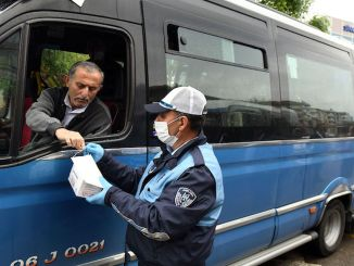 Hygiene support continues for the stuffed tradesmen in Ankara
