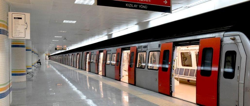 جدول زمانبندی مترو و Ankaray در آنکارا به روز شد