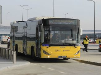 New iett line for ataturk airport hospital