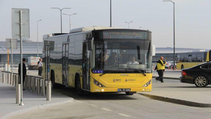 Neue iett Linie für atatürk Flughafenkrankenhaus