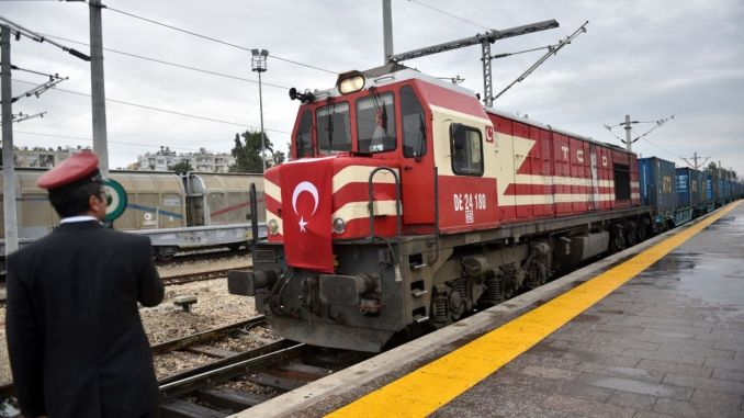 capacity of baku tbilisi kars railway line increased