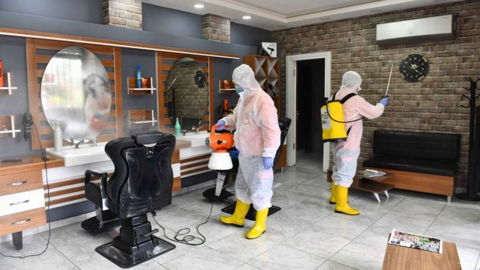 hygiene support for barbers and hairdressers