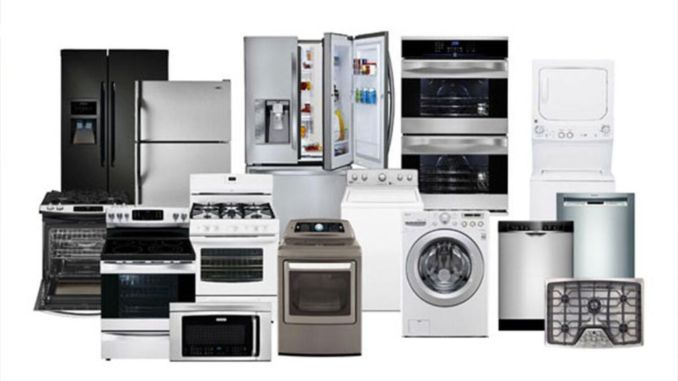 an additional tax on the import of white goods