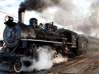 hvad er en damplokomotiv
