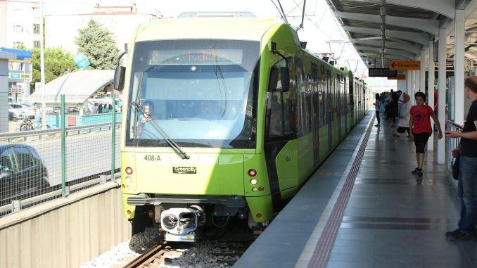 Towards the tender on the metro line of bursa city hospital