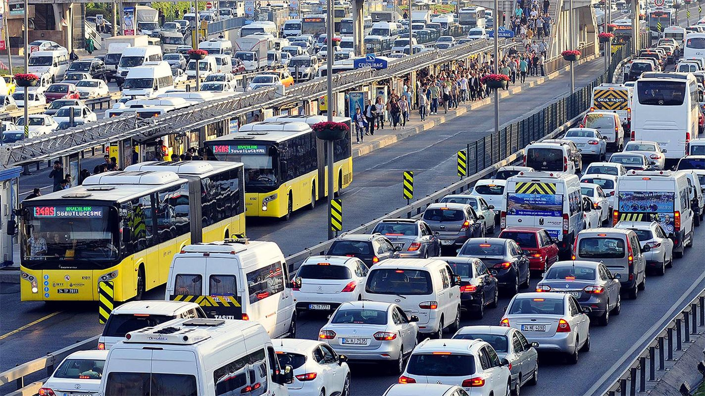 Investigating the effects of covid on Istanbul traffic