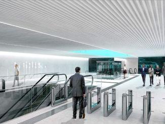 perubahan rute karena pembangunan jalur metro di daricada