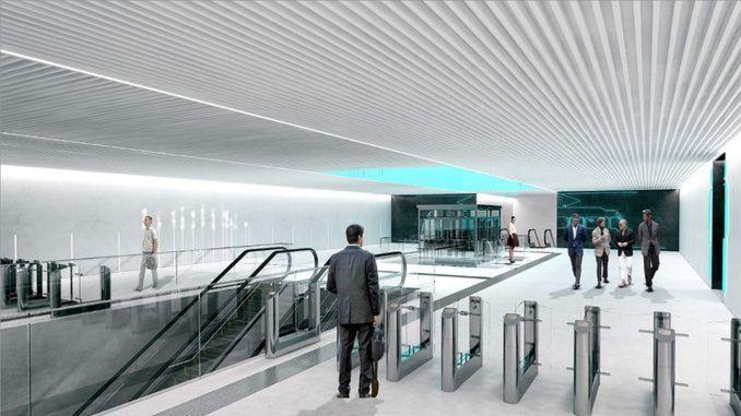 Routenänderung aufgrund des Baus der U-Bahnlinie in Daricada
