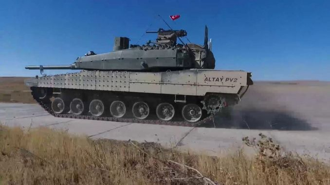 Altay Tank Production Will Be Started With Available Engines Rayhaber Raillynews