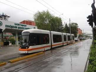 Trial drives started on the new tram lines of Eskisehir