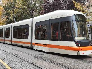 Pemacu percubaan bermula di laluan tram baru Eskisehir