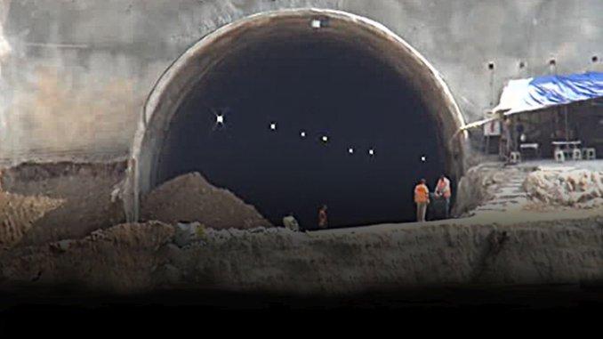 Geyve Dogancay Hochgeschwindigkeitszug Tunnelbau