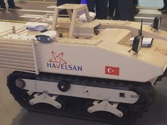 Havelsan에서 자치 무인 KBRN 탐사 차량