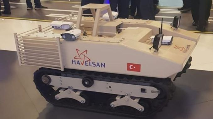 autonomous unmanned kbrn exploration vehicle from havelsan