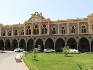 hicaz railroad medine train station