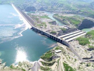 Elektriciteitsproductie begint morgen bij de dam van ilisu