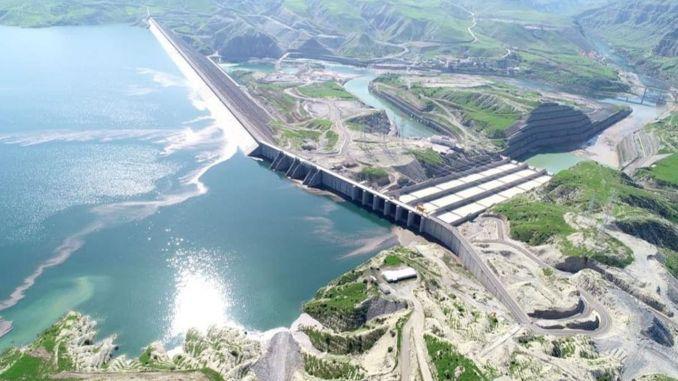ilisu barajinda elektrik uretimi yarin basliyor