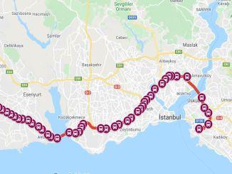 istanbul metrobus durakları