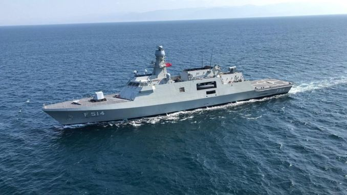 mk vls contract for stack class frigate