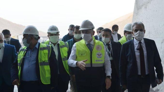 karaismailoglu karaman investigated at ulukisla high speed train station