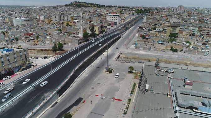 Karakoyun broken crossroad and viaduct completed