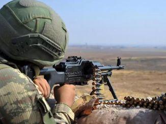 Die Cemce-Gruppe von Teror Orgutu Pkk im Distrikt Kars Kagizman wurde zerstört