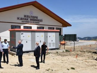 Work continues in keltepe ski center