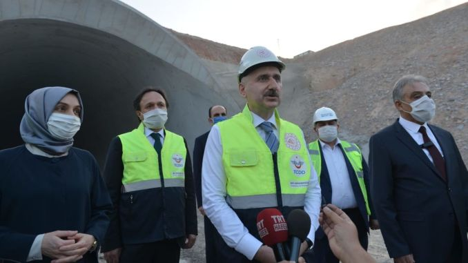 konya karaman high speed train line is planned to open at the end