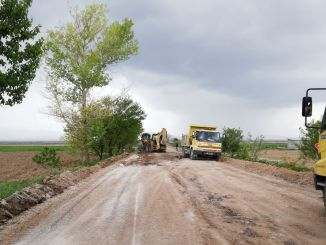 feverish work on neighborhood roads in konya
