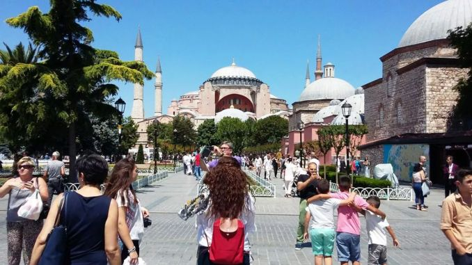 The coronavirus epidemic caused serious losses in the tourism sector