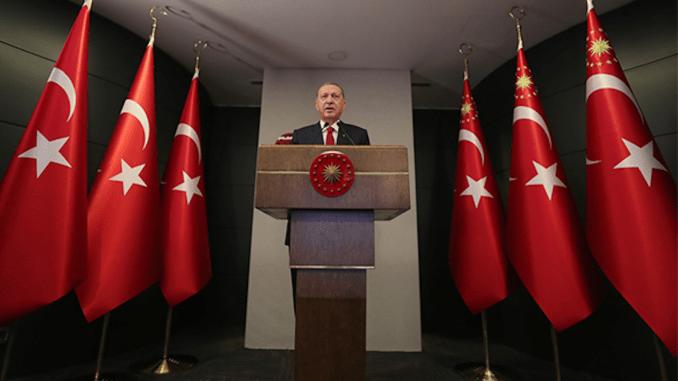 quyết định mới về dịch coronavirus recep tayyip erdogan