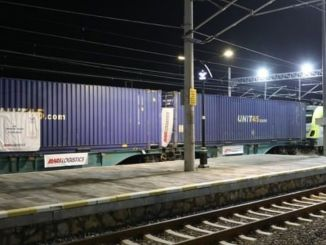 Chuyến tàu xuất khẩu đầu tiên đến Đức với tuyến marmaray