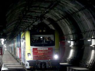 รถไฟบรรทุกสินค้าแห่งแรกของมาร์มาเรย์กำลังจะผ่านในวันพรุ่งนี้